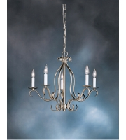 Kichler Lighting Portsmouth 5 Light Chandelier in Brushed Nickel 2033NI alternative photo thumbnail