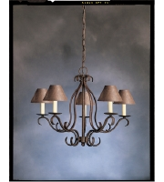 Kichler Lighting Portsmouth 5 Light Chandelier in Tannery Bronze 2033TZ alternative photo thumbnail