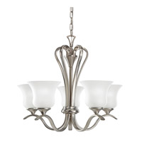 Wedgeport LED 24 inch Brushed Nickel Chandelier Ceiling Light, Medium