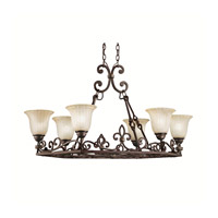 Kichler Lighting Wilton 6 Light Island Light in Carre Bronze 2090CZ