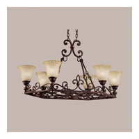 Kichler Lighting Wilton 6 Light Island Light in Carre Bronze 2090CZ alternative photo thumbnail