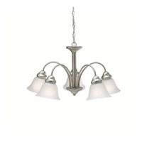 Kichler 2093NI Wynberg 5 Light 25 inch Brushed Nickel Chandelier Ceiling Light