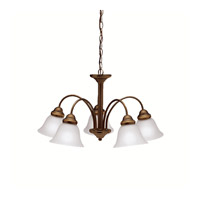 Kichler 2093OZ Wynberg 5 Light 25 inch Olde Bronze Chandelier Ceiling Light