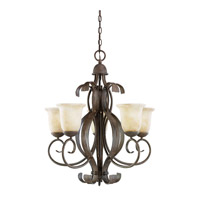 Kichler Lighting High Country 5 Light Chandelier in Old Iron 2108OI