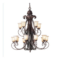 Kichler Lighting High Country 15 Light Chandelier in Old Iron 2111OI photo thumbnail