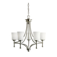 Kichler Lighting Wharton 5 Light Chandelier in Brushed Nickel 2120NI photo thumbnail