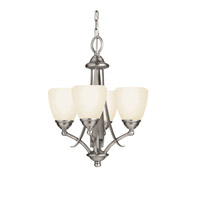 Kichler Lighting Lombard 4 Light Mini Chandelier in Antique Pewter 2127AP photo thumbnail