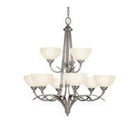 Kichler Lighting Lombard 9 Light Chandelier in Antique Pewter 2133AP photo thumbnail