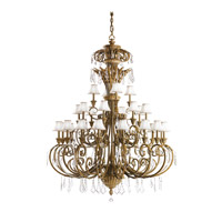 Kichler 2134RVN Ravenna 28 Light 71 inch Ravenna Foyer Chandelier Ceiling Light