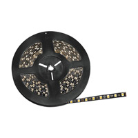 Kichler Lighting Damp Location LED Tape IP65 High Output 3200K 20ft in Black Material 220H32BK