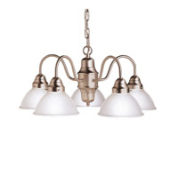 Kichler Lighting Cape May 5 Light Chandelier in Brushed Nickel 2320NI