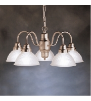 Kichler Lighting Cape May 5 Light Chandelier in Brushed Nickel 2320NI alternative photo thumbnail