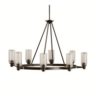 Circolo 8 Light 36 inch Olde Bronze Island Light Ceiling Light