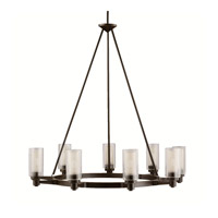 Circolo 9 Light 36 inch Olde Bronze Chandelier Ceiling Light
