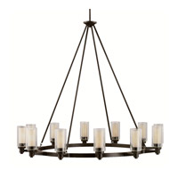 Circolo 12 Light 45 inch Olde Bronze Chandelier Ceiling Light
