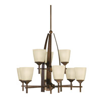 Kichler Lighting Souldern 9 Light Chandelier in Marbled Bronze 2415MBZ