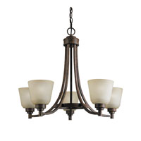 Kichler Lighting Berwick Chandelier 5Lt in Weathered Sage 2451WSG