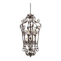 Kichler Lighting Wilton 6 Light Foyer Chain Hung in Carre Bronze 2471CZ photo thumbnail