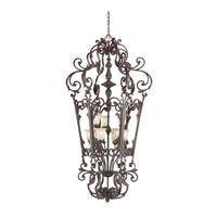 Kichler Lighting Wilton 9 Light Foyer Chain Hung in Carre Bronze 2472CZ photo thumbnail