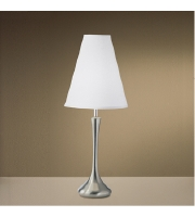 Kichler Lighting New Traditions 1 Light Table Lamp in Brushed Nickel 24802 alternative photo thumbnail