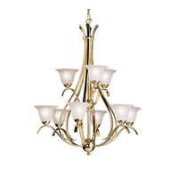 Kichler Lighting Dover Chandelier in Polished Brass 2520PB photo thumbnail