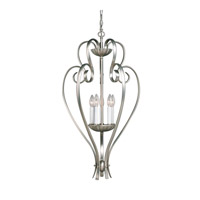 Kichler Lighting Willowmore 5 Light Foyer Chain Hung in Brushed Nickel 2529NI photo thumbnail