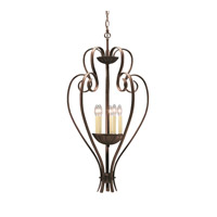 Kichler Lighting Willowmore 5 Light Foyer Chain Hung in Tannery Bronze 2529TZ photo thumbnail