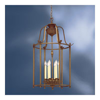 Kichler Lighting Kempton Park 6 Light Foyer Chain Hung in Parisian Bronze 2542PRZ
