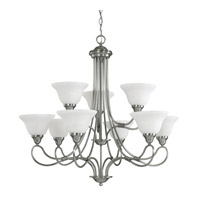 Stafford 9 Light 33 inch Antique Pewter Chandelier Ceiling Light