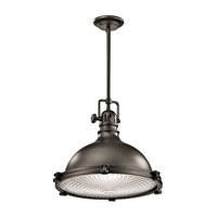 Kichler 2682OZ Hatteras Bay 1 Light 18 inch Olde Bronze Pendant Ceiling Light