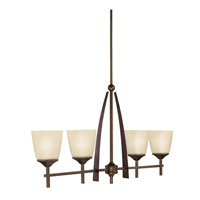 Kichler Lighting Souldern 4 Light Island Light in Marbled Bronze 2915MBZ