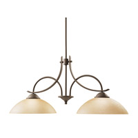Kichler Lighting Olympia 2 Light Island Light in Olde Bronze 2978OZ photo thumbnail