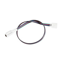 LED Tape White 24 inch LED Tape Supply Lead in 2ft, RGB