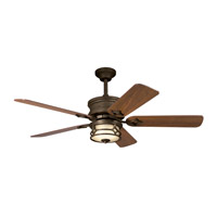 Kichler Lighting Chicago Fan in Aged Bronze 300001AGZ photo thumbnail