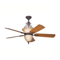 Kichler Lighting Cottage Grove Fan in Carre Bronze 300003CZ photo thumbnail