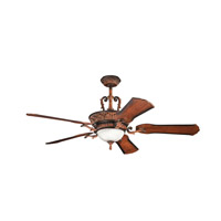 Kichler 300008MDW Kimberley 60 inch Mediterranean Walnut with Walnut MS-5036 Blades Fan