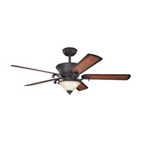 Kichler High Country Fan in Distressed Black 300010DBK