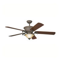 Kichler Lighting High Country Fan in Old Iron 300010OI photo thumbnail