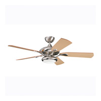 Kichler Lighting Aldrin Fan in Brushed Stainless Steel 300014BSS photo thumbnail