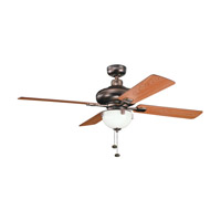Kichler Lighting Bronson Fan in Oil Brushed Bronze 300015OBB photo thumbnail