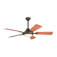 Kichler 300019OZ Bellamy Olde Bronze with Walnut Blades Fan photo thumbnail