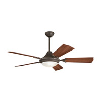 Kichler 300019OZ Bellamy Olde Bronze with Walnut Blades Fan alternative photo thumbnail