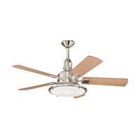 Kichler 300020PN Kittery Point Polished Nickel Maple Fan