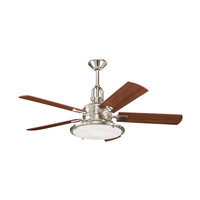 Kichler 300020PN Kittery Point Polished Nickel with Maple Blades Fan alternative photo thumbnail