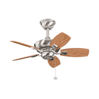 Kichler Lighting Canfield Fan in Brushed Stainless Steel 300103BSS photo thumbnail