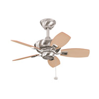 Kichler Lighting Canfield Fan in Brushed Stainless Steel 300103BSS