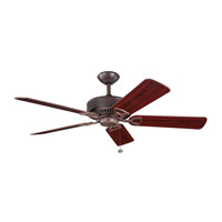 Kichler Lighting Kedron Fan in Tannery Bronze 300104TZ photo thumbnail