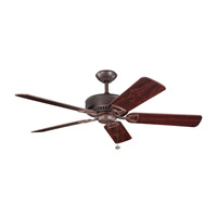 Kichler Lighting Kedron Fan in Tannery Bronze 300104TZ