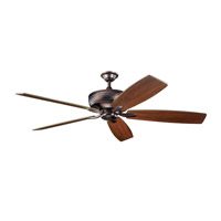 Kichler 300106OBB Monarch 70 inch Oil Brushed Bronze with Walnut Blades Fan alternative photo thumbnail