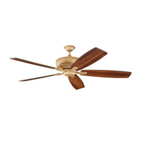 Kichler Lighting Monarch Fan in Wispy Brulee 300106WBR alternative photo thumbnail